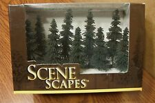 "BACHMANN SCENE SCAPES N SCALE 3"" - 4"" SPRUCE TREES   (9) TREES/BOX"
