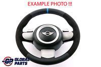 BMW Mini Cooper R50 NEW Black Leather Steering Wheel M-tricoloured Steptronic