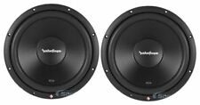 """(2) Rockford Fosgate R2D4-12 Prime 12"""" 1000 Watts Car Audio Subwoofers Package"""