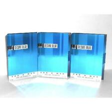 3 x Desire Blue Alfred Dunhill Men 1.7 ml/.06 oz ea Eau de Toilette Splash Vial