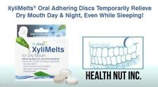 XyliMelts dry mouth discs, mild-mint, 80 count, all-natural