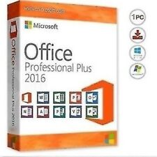 MS Office Professional Plus 2016 Full PC Version Lifetime Key INSTANT DELIVERY ~