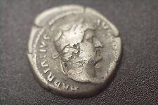 silver coin denarius Publius Aelius Traianus Hadrianus Roman Emperor 117 to 138