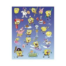 Spongebob Poster Types Faces Wall Art Decor Bedroom Mini (40 x 50cm) 613
