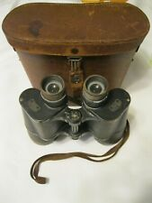 Pair of Vintage Carl Zeiss Binoculars 7x50 Binoctar with Zeiss Leather Case