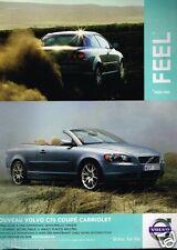 Publicité advertising 2007 Nouveau Volvo C70 coupé cabriolet
