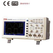 UUNI-T UTD2052CEX Digital Storage Oscilloscopes 2CH 50MHZ Scope meter 7 inches