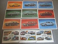 1979 Rare Excellent COMPLETE Set of 14 1979 Chevrolet CAR & TRUCK Postcards 1979