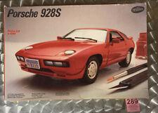 "Vintage - 1985 TESTORS - Porsche ""928 or 928S"" Model Car Kit 1/24 Scale"