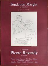 Affiche Exposition PIERRE REVERDY et ses amis PICASSO Maeght 1970