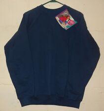 NOS Hanes Sweatshirt U.S. Olympic Carol Alt Blue 1993 Size L (12-14)