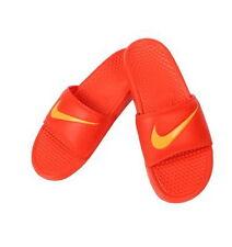 best sneakers 06b9c d1268 NIKE BENASSI SWOOSH Orange Slide Sandal 312618 880 Flip Flop Sz11-13 Fast  ship O