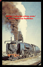 LMH Postcard SOUTH AFRICA Railway EZETTE 4-8-4 3428 Class 25 Henschel DeAar 1973