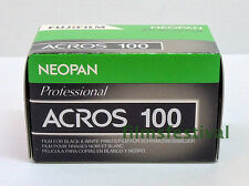 5 rolls FUJI NEOPAN ACROS 100 35mm 36exp Black & White Film FREESHIP
