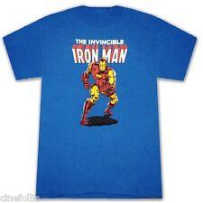 T-shirt the Invincible IRON MAN Comic Maglia Uomo ufficiale film Marvel Avengers