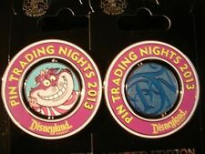 Disney Pin DLR Disney Pin Trading Night 2013 Cheshire Cat Pin LE750