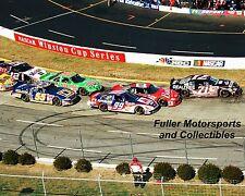 JEFF BURTON DALE EARNHARDT JR BOBBY LABONTE 2001 NASCAR 8X10 PHOTO WINSTON CUP