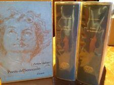 Poesia del Settecento Parnaso italiano Einaudi