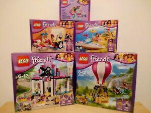 Lego Friends Hot Air Balloon,Hair Salon, 41097 41093 3939 3937 5002929