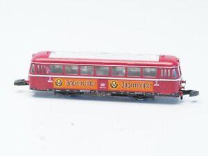8831 Marklin Z-scale Powered Railroad DB Railbus Railcar Jägermeister w/light