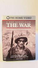 Ken Burns - The War (DVD, 2007, 6-Disc Set, Widescreen Sensormatic) READ