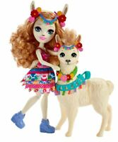 Enchantimals FRH42 - Lluella Llama & Fleecy Figure - Playset
