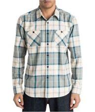 Camisas y polos de hombre de manga larga Quiksilver de poliéster
