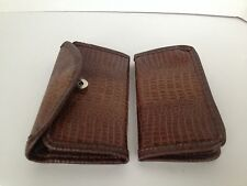 New Leather Bifold Wallet and Check-Book Cover HandCrafted Handmade HandTooled