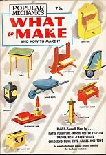 WHAT TO MAKE - ANNUAL - 1958