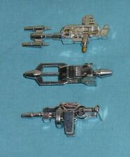 original G1 Transformers INSECTICON WEAPONS LOT Kickback Shrapnel Bombshell
