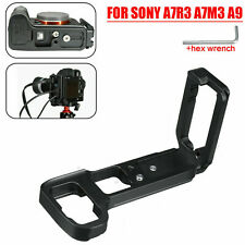 L Plate Bracket Camera Grip dock Holder for Sony A7RIII A9 ILCE-9 ILCE-7RM3