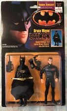 BATMAN DARK KNIGHT COLLECTION BRUCE WAYNE With Batman Suit 1990 Kenner NOC RARE