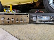 Vintage Pioneer KE-1300 AM/FM Cassette + Equalizer Radio Head Unit Speakers