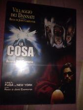 John Carpenter box 3 dvd Universal SIGILLATO-Villaggio dei dannati La cosa 1997