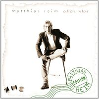 MATTHIAS REIM - ALLES KLAR  CD NEU