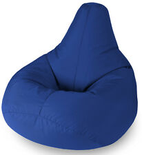 BEANBAGS Outdoor Furniture Blue Water Resistant Beanbag Lounger for