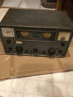 Antique Hammarlund HQ-110A Amateur Ham Radio Receiver SSB/CW Vintage Ohio NR