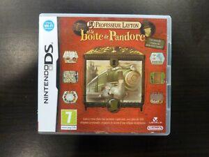 Nintendo DS Professeur Layton et la boîte de Pandore  Vers. FRA