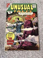 UNUSUAL TALES #35 Charlton Comics Higher Grade Silver Age Horror!!!