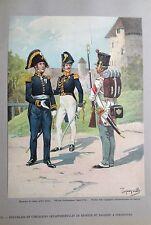 TANCONVILLE - 1815 - Etat-major cie départementales de réserve    à STRASBOURG