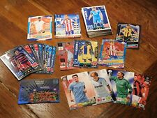 "112x Match Attax Base-Cards/Glitzer ""Fussball Champions League 2010 – 2017"""
