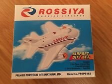 Airline Airport Playset Fun Plane Model Bus Helicopter Mat Light & Noise Rossiya