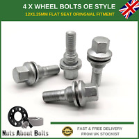 4 x Wheel Bolts M12x1.25 OE Style For Citroen C4 Grand Picasso (2006-2016)