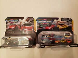 Micro Machines Series 1 Chrome Chase 03 Race Team & 01 Dealership Set