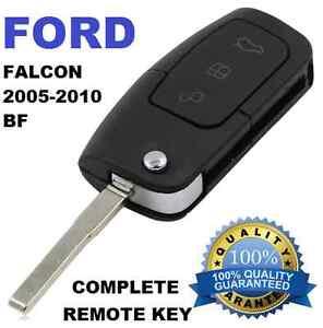 REMOTE FLIP KEY CAR KEY SUITABLE FOR FORD FALCON BF FG  XR6 - XR8 focus Fiesta
