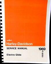 1959-1969  Harley-Davidson Service Manual Electra Glide Duo-Glide  #99482-69