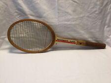 Vintage Kawasaki Number One Wood Wooden Tennis Racket