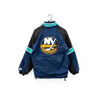 Vintage 90s Starter New York Islanders Puffer Jacket Size Small