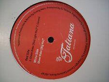 """DJ TATIANA GHOST RIDER 12"""" RECORD NM"""