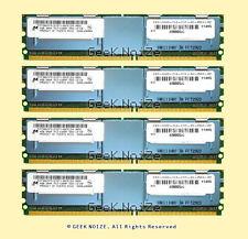 Micron Server RAM 16GB 4x 4GB PC2-5300F FB DIMM Fully Buffered FITS Dell HP IBM